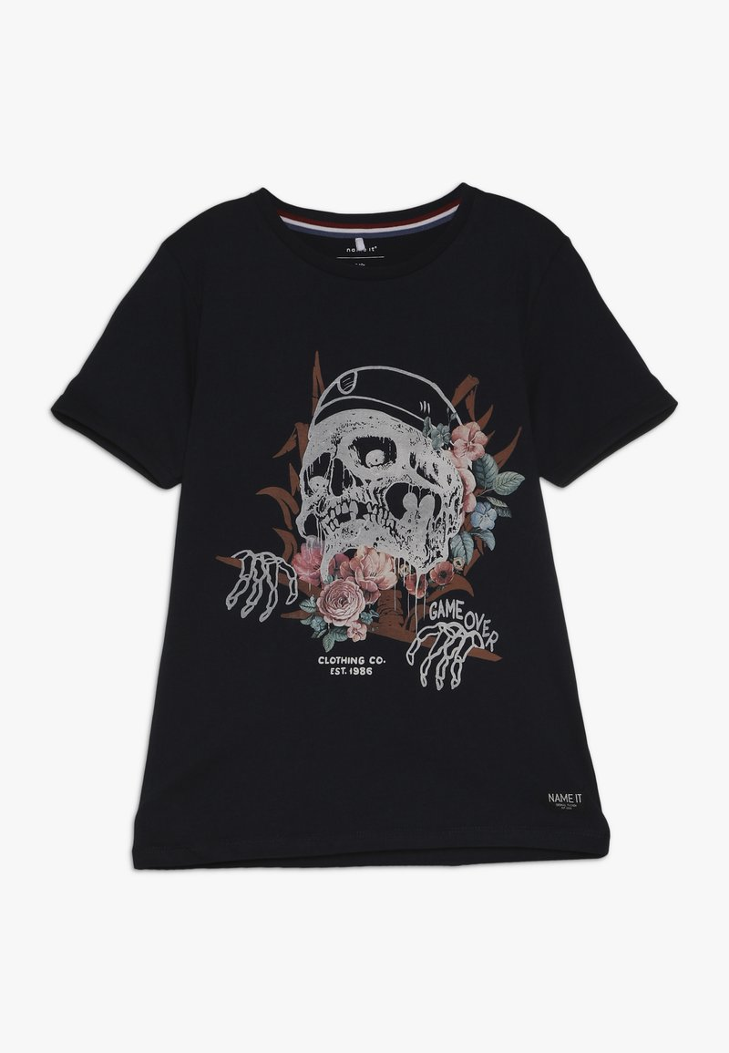 Name it - NKMHRUPKOTHA - T-Shirt print - dark sapphire