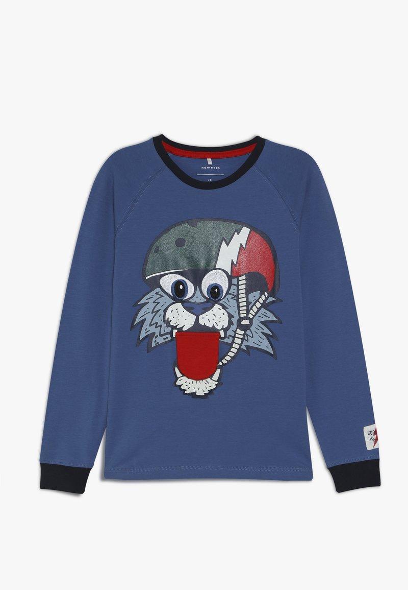 Name it - NMMLIAMBERT - Langærmede T-shirts - dutch blue