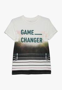 Name it - NKMLAS  - T-shirt imprimé - snow white - 0
