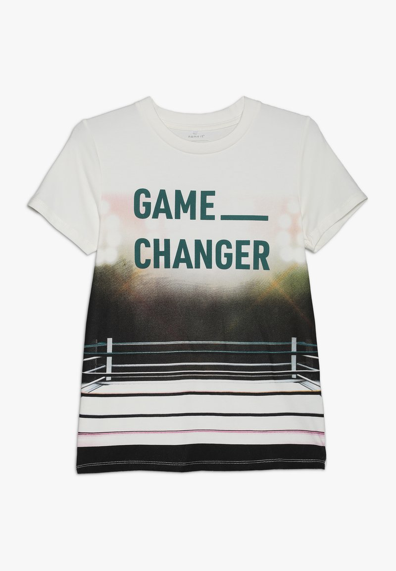 Name it - NKMLAS  - T-shirt imprimé - snow white