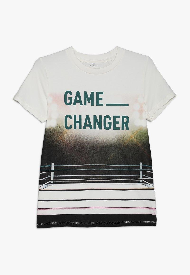 Name it - NKMLAS  - T-shirts print - snow white