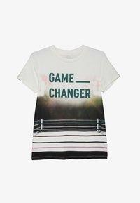 Name it - NKMLAS  - T-shirt imprimé - snow white - 2