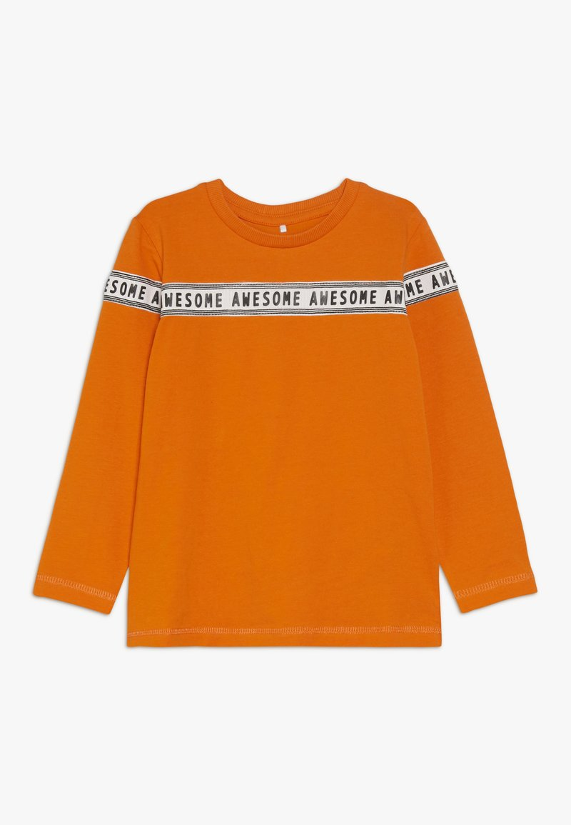 Name it - NMMNUR - Longsleeve - mandarin orange