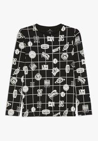 Name it - NKMOLIVANDER SLIM BOX - Long sleeved top - black - 0