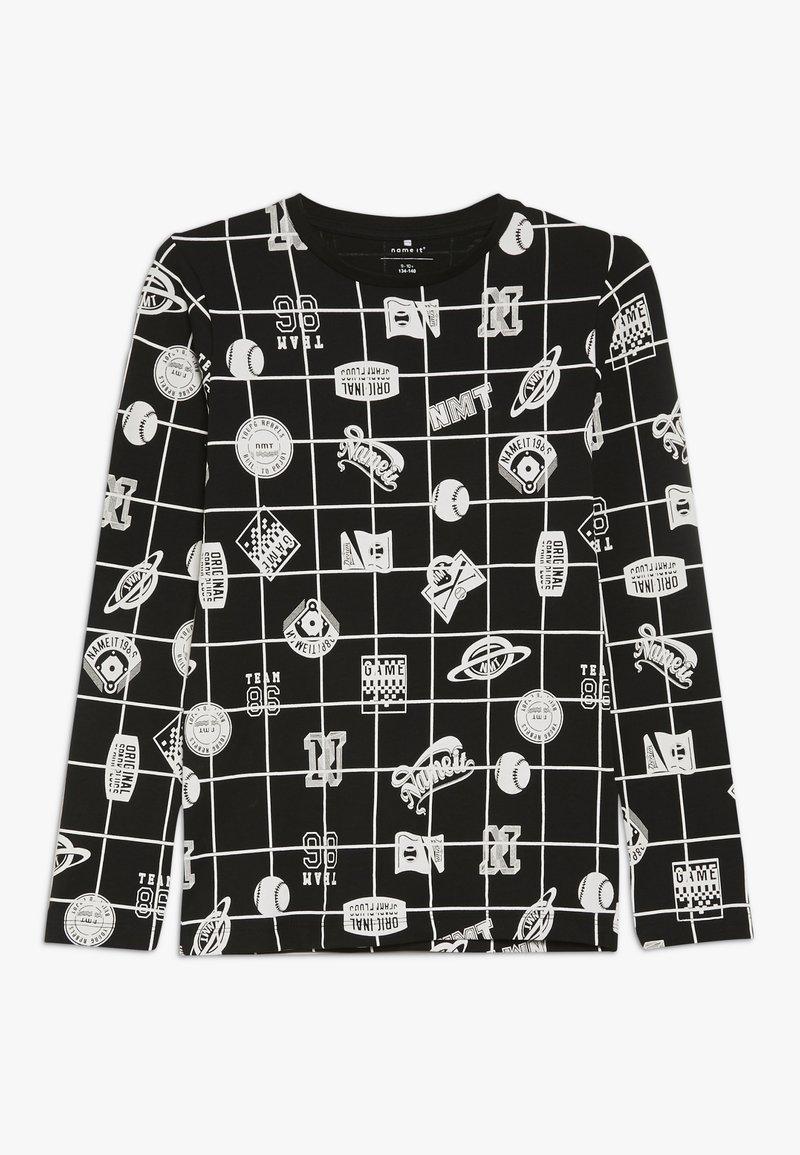 Name it - NKMOLIVANDER SLIM BOX - Long sleeved top - black