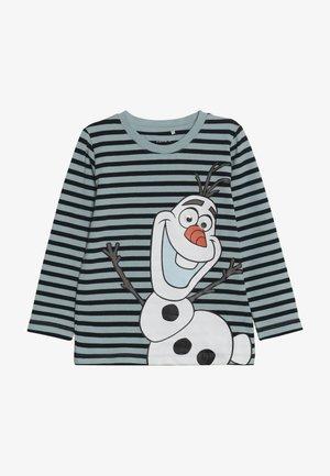 DISNEY FROZEN OLAF - Top sdlouhým rukávem - sterling blue