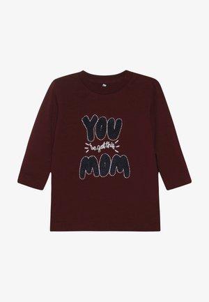 NBMOLE - Camiseta de manga larga - cabernet