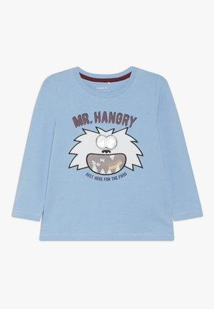 NMMSIGGE BOX - Top sdlouhým rukávem - dusk blue