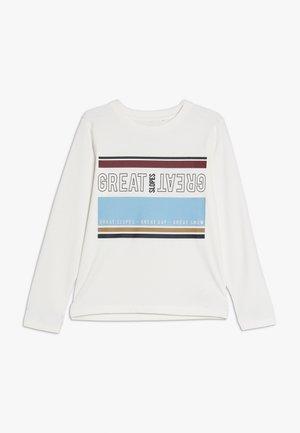 NKMSONO  - Camiseta de manga larga - snow white