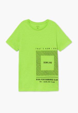 NKMTROELS - T-shirt con stampa - lounge lizard