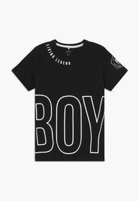 Name it - NKMBONAS - T-shirt med print - black - 0