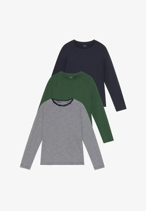NKMVALON  3 PACK  - Longsleeve - green pastures/bright white