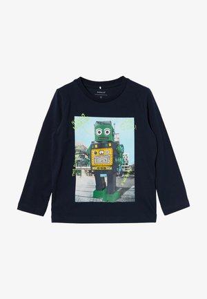 NMMBOBOTTEN - Camiseta de manga larga - dark sapphire