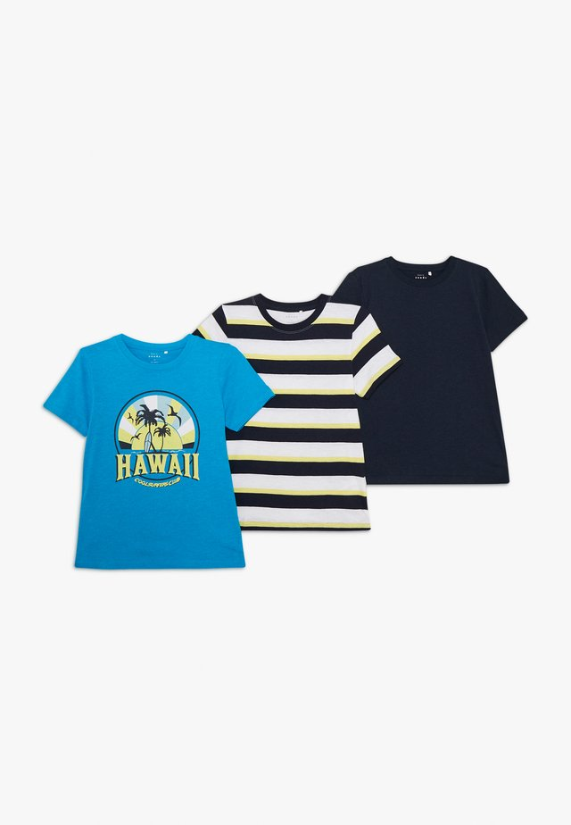 NKMVALTHE 3 PACK  - T-Shirt print - hawaiian ocean