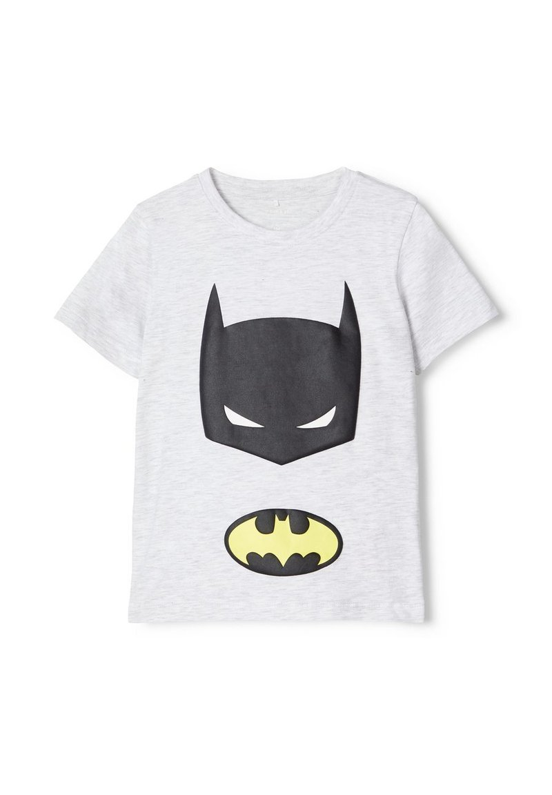 Name it - NMMSUPERHERO STEN - Print T-shirt - light grey melange