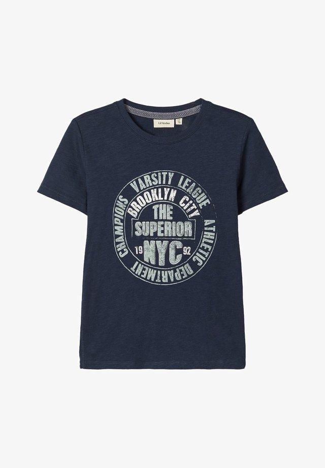 Camiseta estampada - dark sapphire