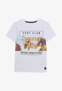 Name it - NKMJOSVA - Camiseta estampada - bright white - 2