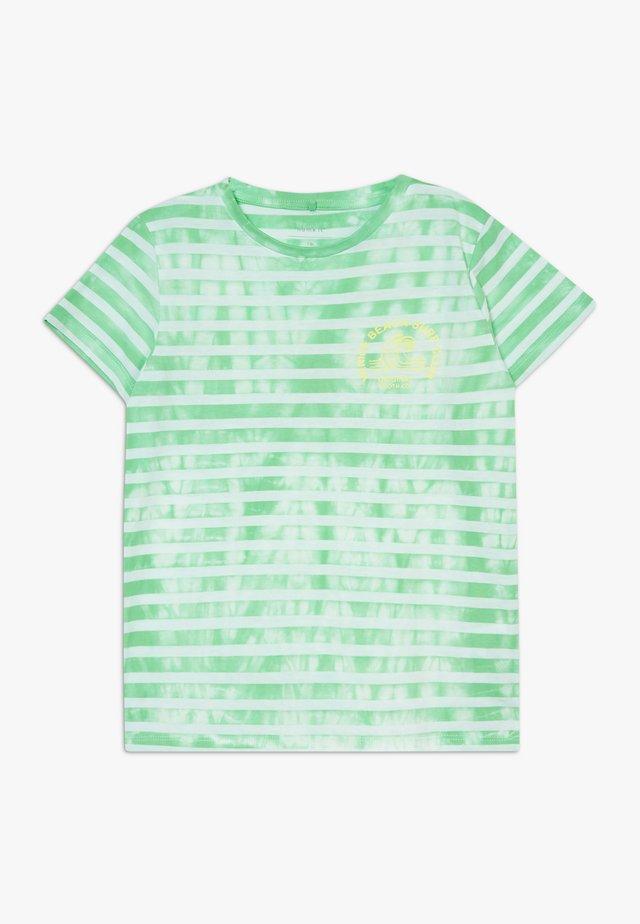 NKMJENKE BOX - T-Shirt print - spring bud