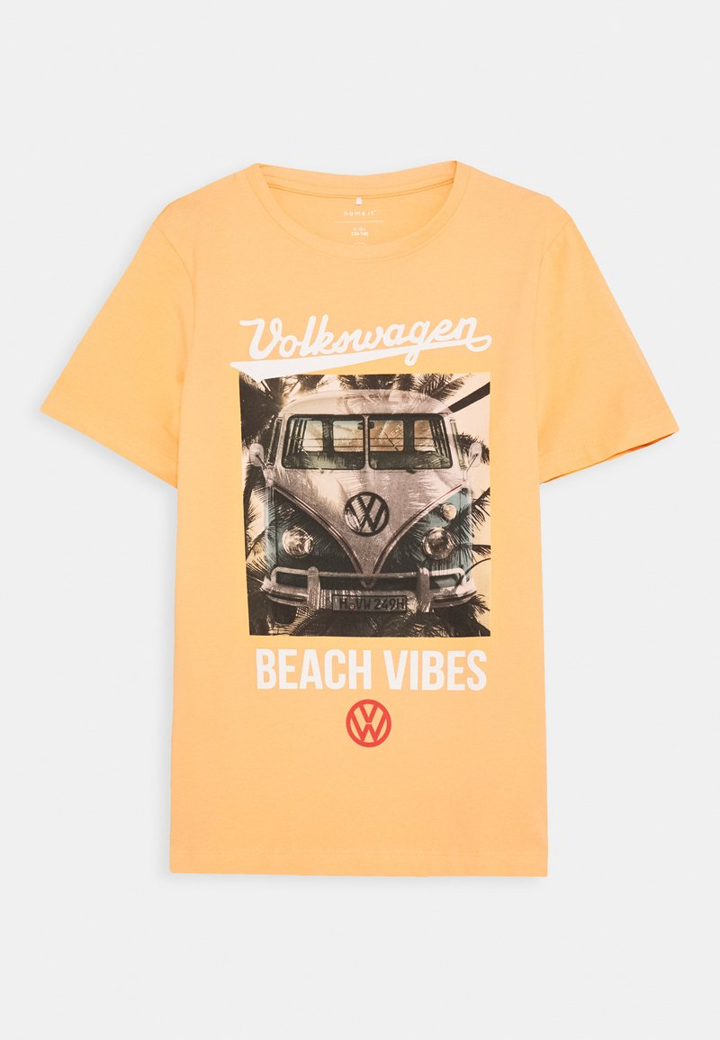 Name it - NKMVW XAVIER  - Print T-shirt - canteloupe