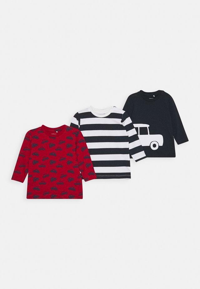 NBMKALLE 3 Pack - Langarmshirt - jester red