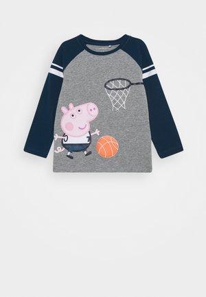 NMMPEPPAPIG PORTO  - Langærmede T-shirts - grey melange