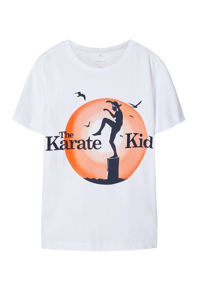 THE KARATE KID  - Camiseta estampada - bright white