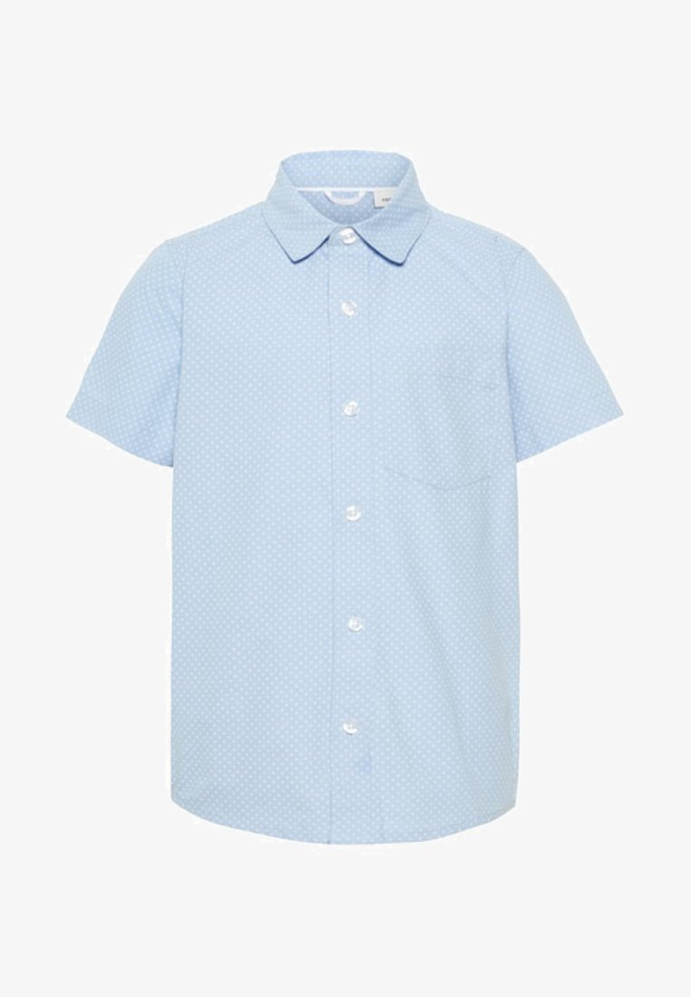 Name it - GEPUNKTETES - Overhemd - chambray blue