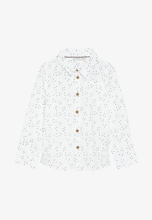 NMMRUNERO - Camisa - snow white