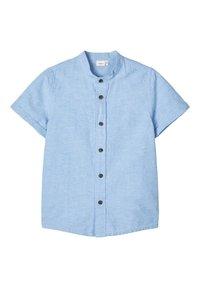Name it - NAME IT HEMD MANDARINKRAGEN - Koszula - sterling blue - 0