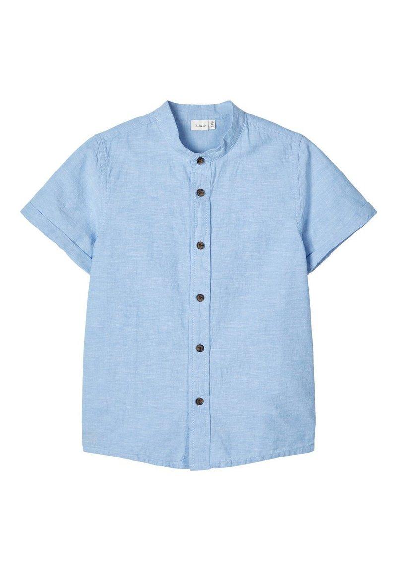 Name it - NAME IT HEMD MANDARINKRAGEN - Koszula - sterling blue