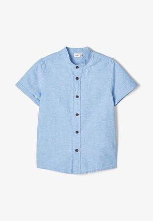 NAME IT HEMD MANDARINKRAGEN - Overhemd - sterling blue