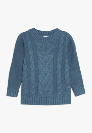 NMMNOBERT CAMP - Pullover - mallard blue