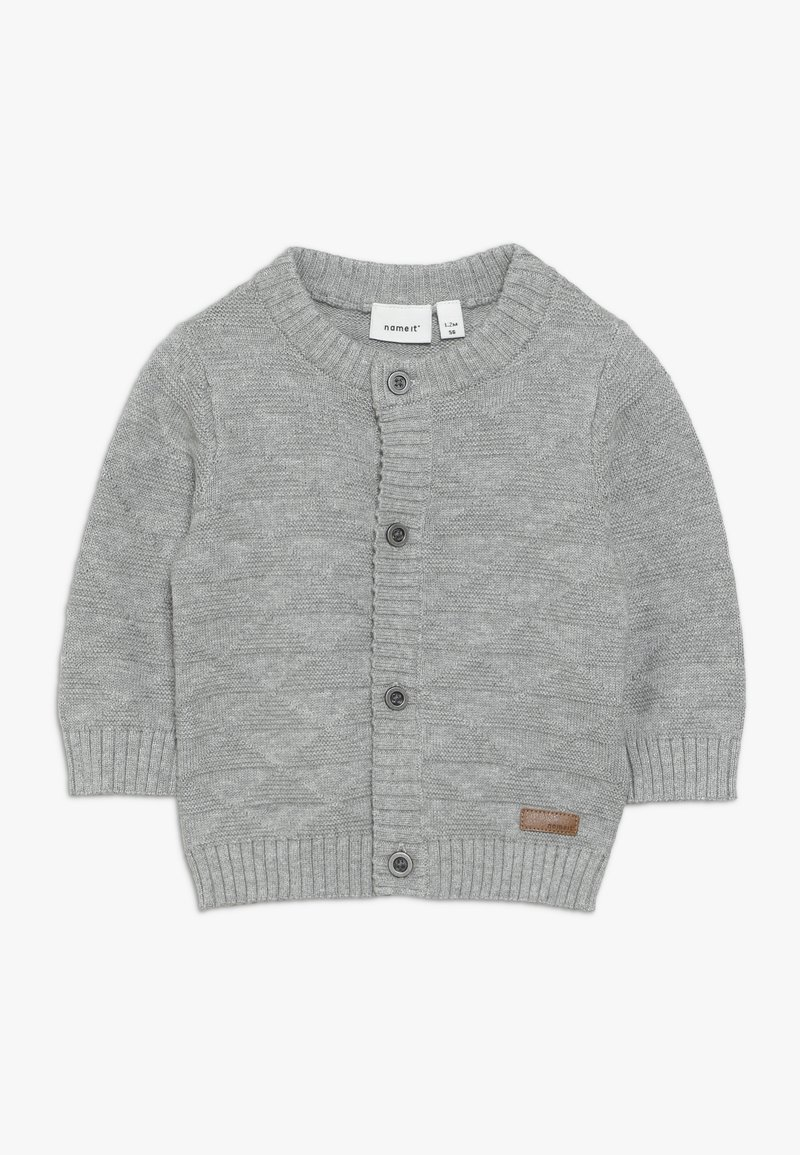 Name it - NBMOMOLLE - Cardigan - grey melange