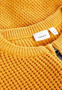 Name it - GROB - Chaqueta de punto - golden orange - 2