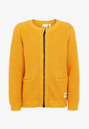 GROB - Strikjakke /Cardigans - golden orange