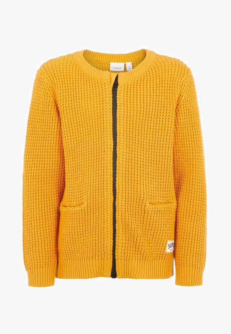 Name it - GROB - Chaqueta de punto - golden orange