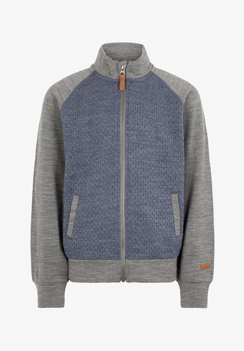 Name it - Strikjakke /Cardigans - blue/grey