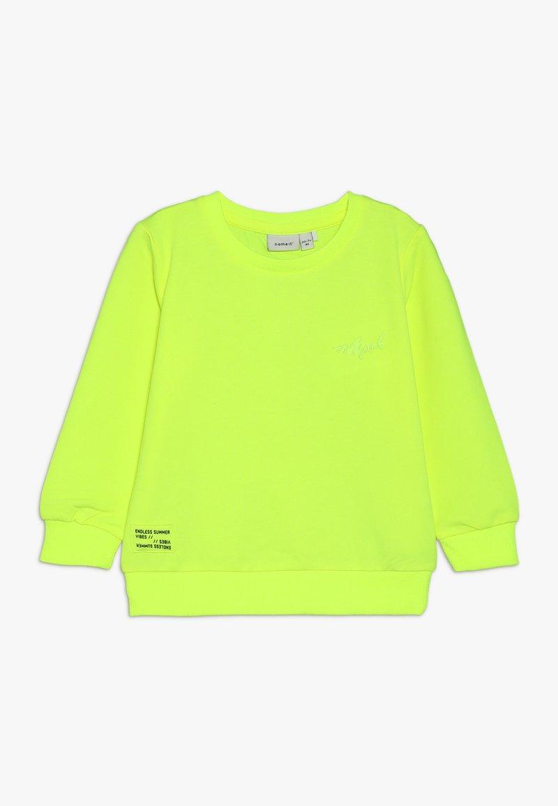 Name it - NMMKUMA - Sweatshirt - safety yellow