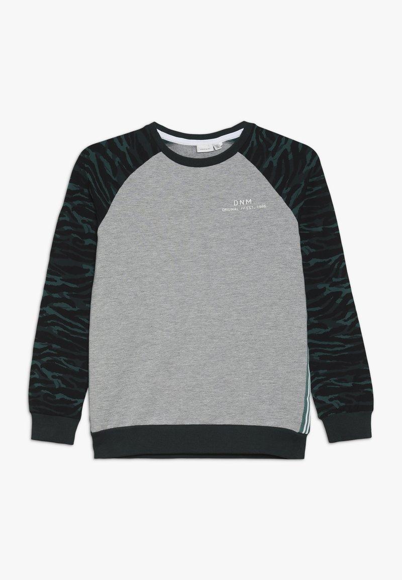 Name it - NKMLIVAN - Sweatshirt - grey melange