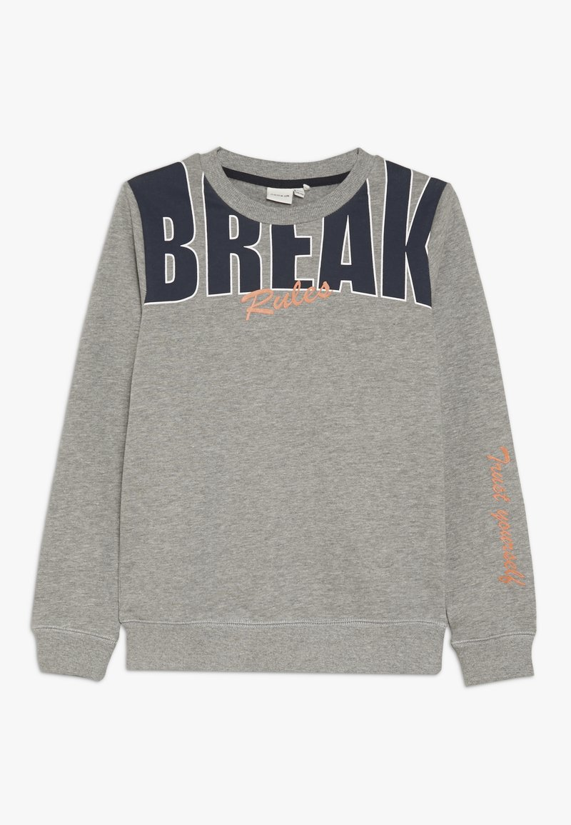 Name it - NKMNOLAN CAMP - Sweatshirts - grey melange