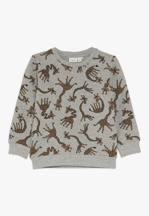 NMMLUIO - Sweater - grey melange
