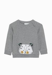 Name it - NBMLEHIM  - Sweatshirt - grey melange - 0