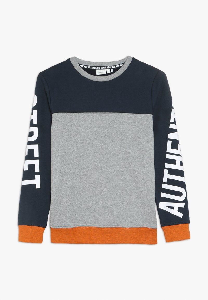 Name it - NKMNARIO  - Sweatshirt - grey melange