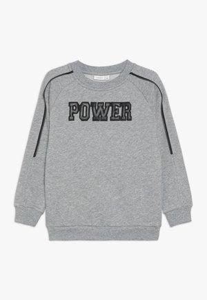NKMNPOWER  - Sweatshirt - grey melange