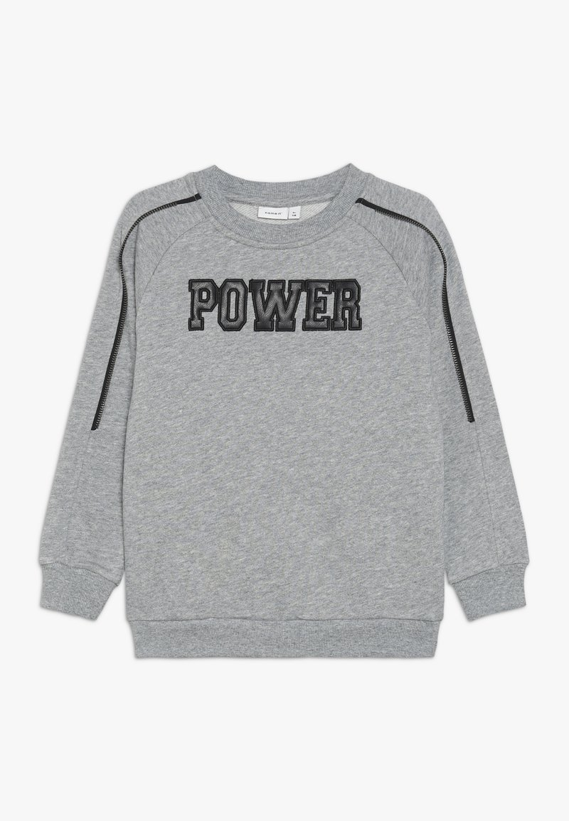 Name it - NKMNPOWER  - Sweatshirt - grey melange