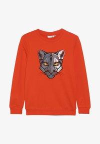 Name it - NKMVILDAR  - Sweater - tangerine tango - 3