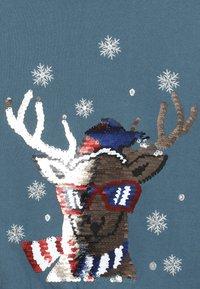 Name it - NKMRUDOLFON - Sweatshirt - mallard blue - 2