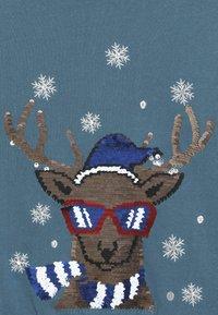 Name it - NKMRUDOLFON - Sweatshirt - mallard blue - 4