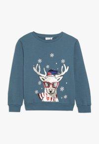 Name it - NKMRUDOLFON - Sweatshirt - mallard blue - 0