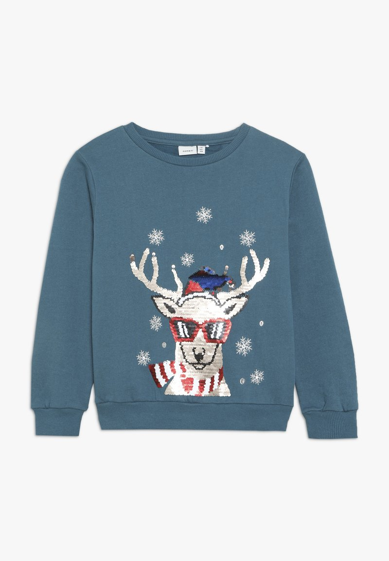 Name it - NKMRUDOLFON - Sweatshirt - mallard blue